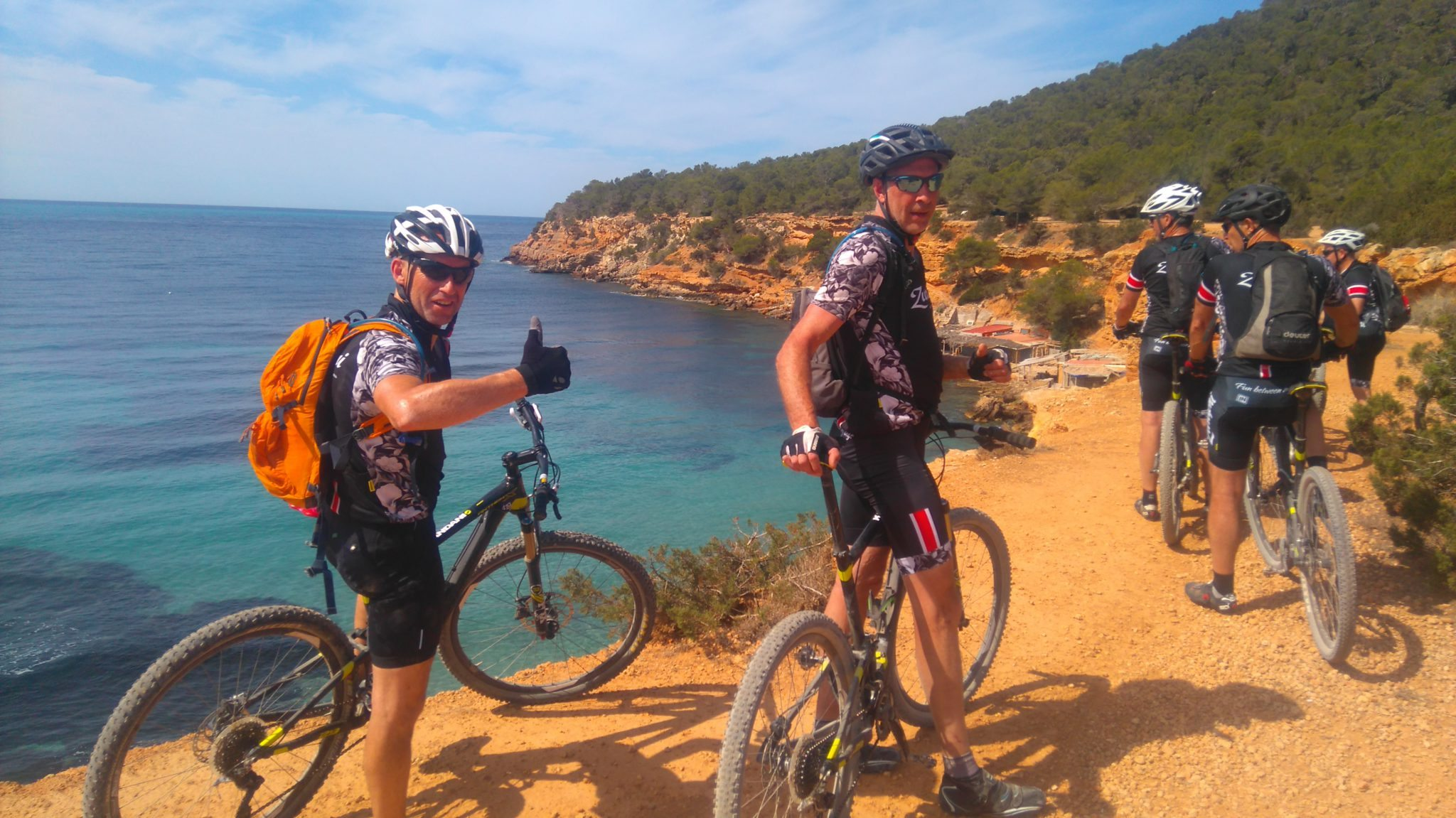 Cross Ibiza in 4 days with the mountainbike