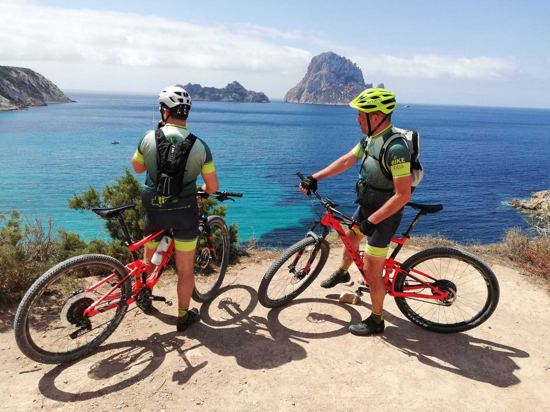 Discovering Ibiza on your bike…love at first sight.