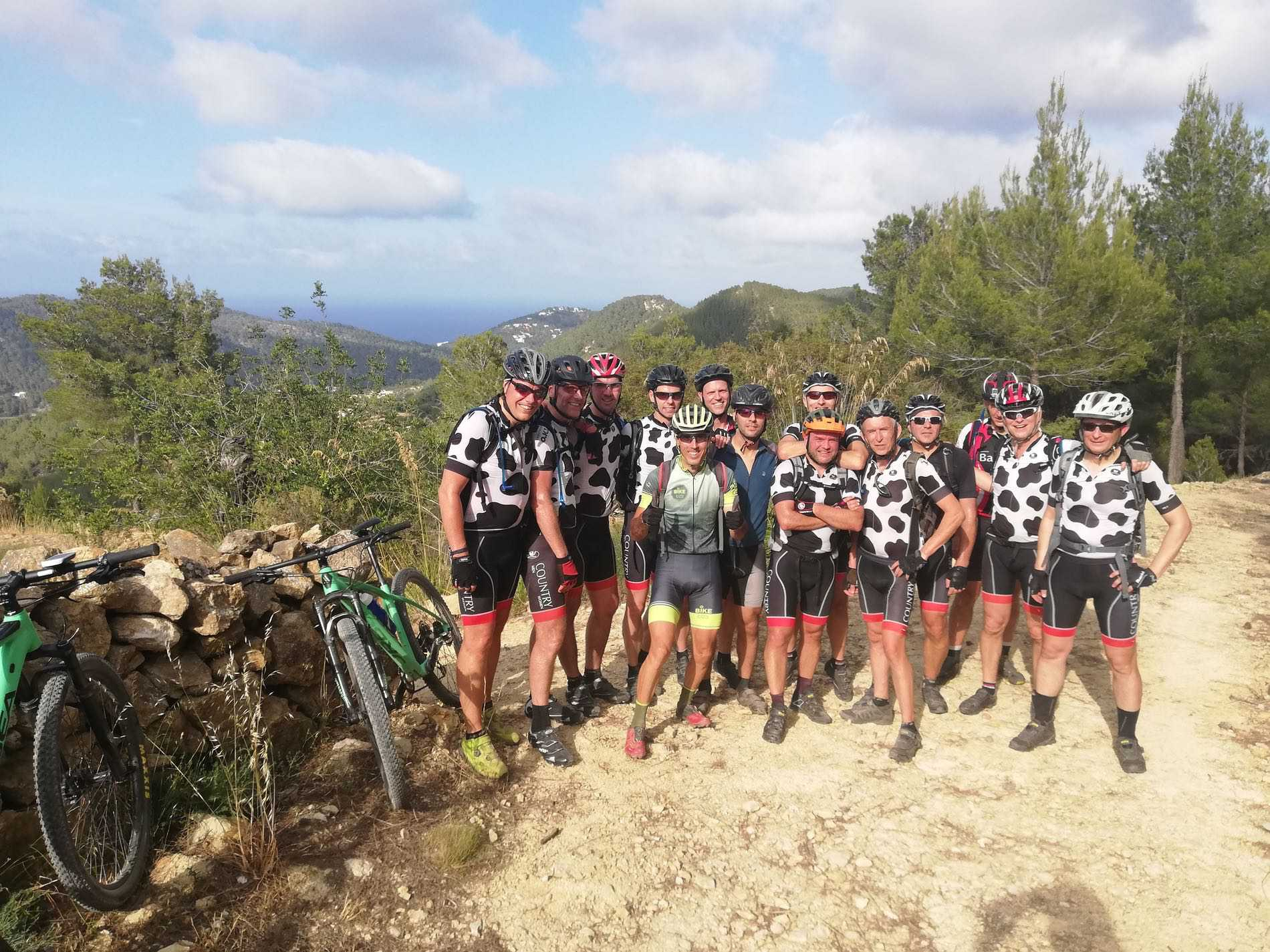 Mountain bike vacation in Ibiza, September and October